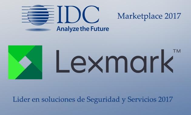 Lexmark nombrada líder en soluciones de seguridad y servicios