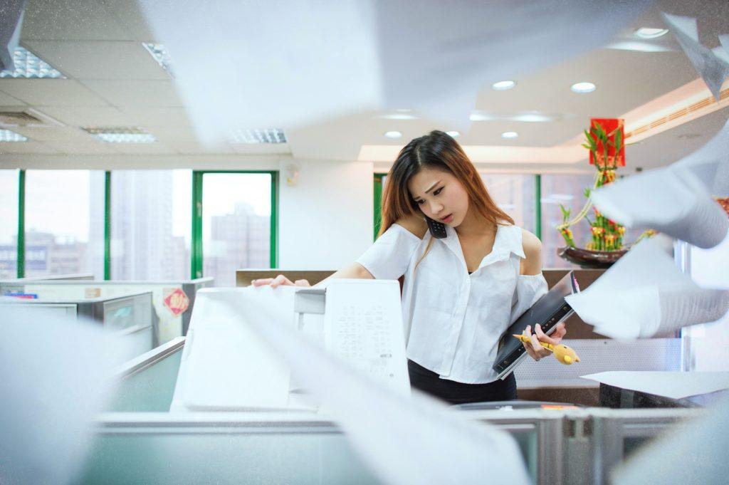 El valor de la fotocopiadora en la empresa