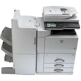 Fotocopiadora SharpMx-m753. Alquiler en Inforcopy