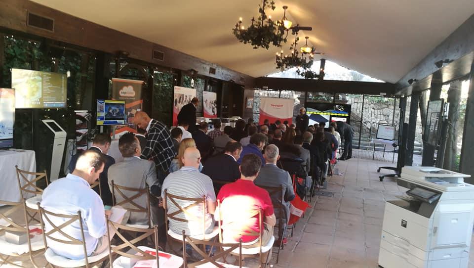 Gran éxito en la convención de Sharp Ibérica otoño 2018