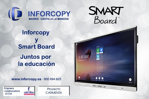 Inforcopy, distribuidor de las nuevas SMART Board