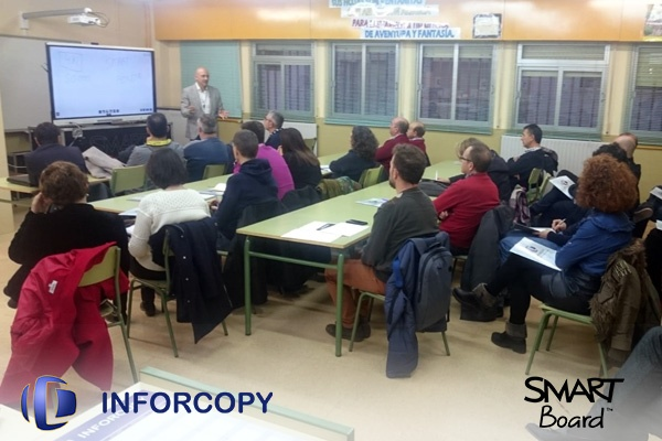 Presentación de las SMART Board en Albacete