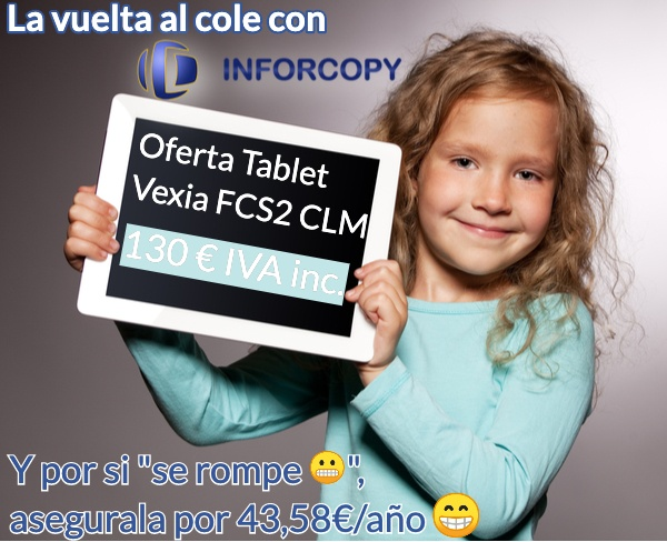 Oferta, Tablet Vexia FCS2 Plan Carmenta